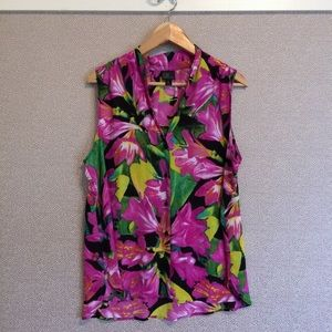 XL Worthington Sleeveless Blouse